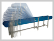 modular conveyor angled sections